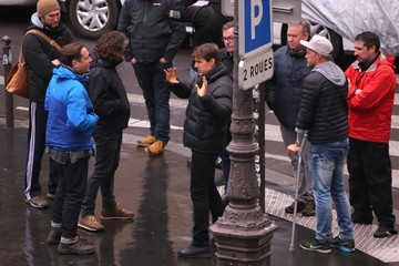 Tom Cruise Tom Cruise Is Out in Paris While Filming 'Mission Impossible 6'