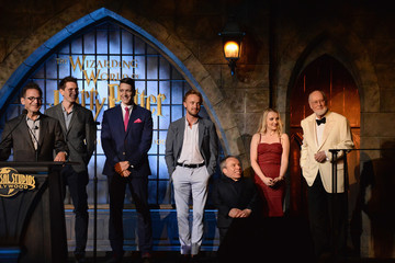 Tom Felton Universal Studios Hollywood Hosts the Opening of 'The Wizarding World of Harry Potter' - Inside