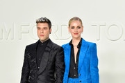 (L-R) Fedez and Chiara Ferragni attend the Tom Ford AW20 Show at Milk Studios on February 07, 2020 in Hollywood, California.