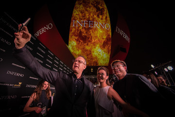 Tom Hanks 'Inferno' Red Carpet And Photo Call, Marina Bay Sands, Singapore