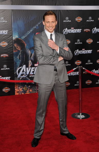 "Tom Hiddleston - Premiere Of Marvel Studios' ""Marvel's The Avengers"" - Arrivals"