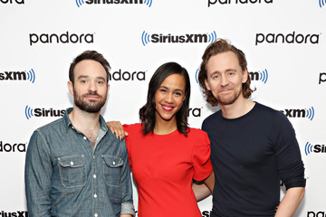Tom Hiddleston Celebrities Visit SiriusXM - November 7, 2019