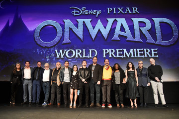 Tom Holland Kori Rae World Premiere of Disney and Pixar's ONWARD
