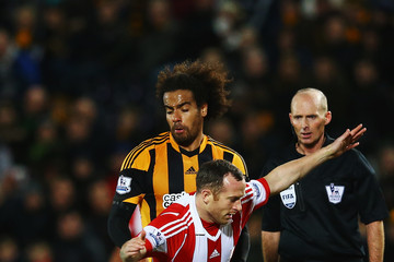 Tom Huddlestone Hull City v Stoke City - Premier League