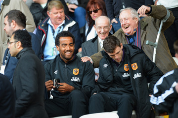 Tom Huddlestone Swansea City v Hull City - Premier League