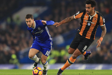 Tom Huddlestone Chelsea v Hull City - Premier League