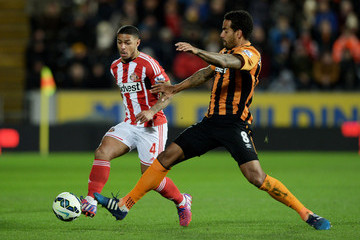 Tom Huddlestone Hull City v Sunderland