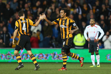 Tom Huddlestone Hull City v Liverpool - Premier League