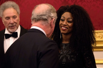 Tom Jones The Prince of Wales' Invest in Futures Reception for the Prince's Trust