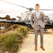 Tom Lynch Celebrities Arrive With Uber At Kennedy Oaks Day