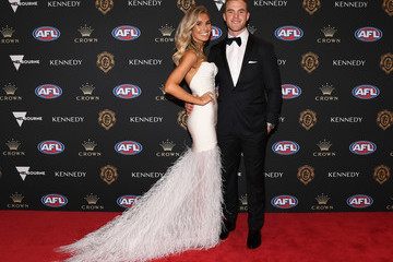 Tom Mitchell Hannah Jeter 2019 Brownlow Medal