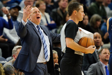 Tom Thibodeau Los Angeles Lakers v Minnesota Timberwolves
