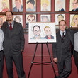 Tom Viertel Penn and Teller Honored with Sardi's Caricatures