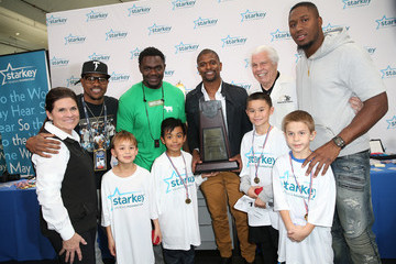 Tommie Harris Celebrity Hearing Mission with Starkey Hearing Foundation - Super Bowl Weekend 2016