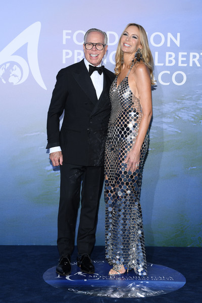 Monte-Carlo Gala For Planetary Health : Photocall [monte-carlo gala for planetary health : photocall,image,suit,formal wear,premiere,tuxedo,dress,event,fashion,carpet,long hair,neck,dee hilfiger,tommy hilfiger,sting,suit,wear,monte-carlo,monaco,premiere,sting,dee ocleppo,stock photography,red carpet,getty images,photograph,celebrity,image,\u30b9\u30c8\u30c3\u30af\u30d5\u30a9\u30c8]