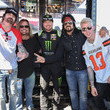 Tommy Lee Celebrities At The Monster Energy NASCAR Cup Series Race At Auto Club Speedway