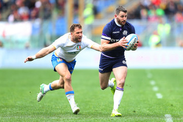 Tommy Seymour Italy vs. Scotland - NatWest Six Nations