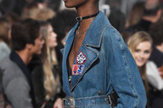 Model Tami Williams walks the runway at the TommyLand Tommy Hilfiger Spring 2017 Fashion Show on February 8, 2017 in Venice, California.
