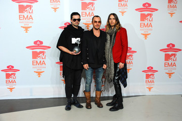 Tomo Milicevic MTV EMA's Photo Room