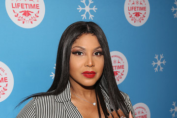 "Toni Braxton In Celebration Of ""It's A Wonderful Lifetime,"" Stars Of The Network's Christmas Movies Attend The VIP Opening Night Of The Life-sized Gingerbread House"