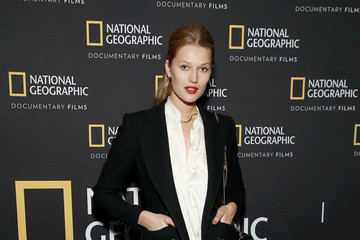 "Toni Garrn Special Screening Of National Geographic's Oscar-Nominated Documentary ""The Cave"" With Film Subject Dr. Amani Ballour"