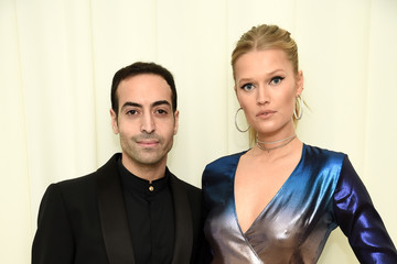 Toni Garrn Mohammed Al Turki 26th Annual Elton John AIDS Foundation Academy Awards Viewing Party sponsored by Bulgari, celebrating EJAF and the 90th Academy Awards - Red Carpet