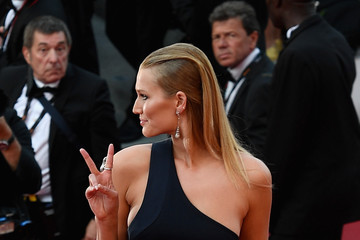 Toni Garrn 'The Beguiled' Red Carpet Arrivals - The 70th Annual Cannes Film Festival
