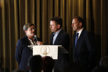 Tony Abbott Christine Forster Christine Forster 'Life, Love & Marriage' Book Launch