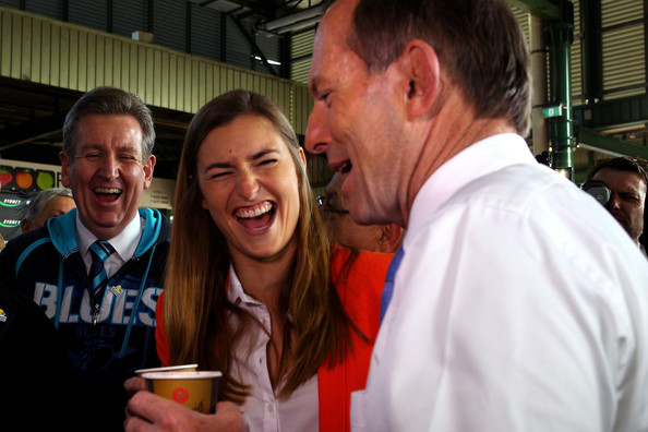 Tony Abbot Continues to Campaign in Sydney []