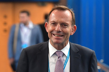 Tony Abbott The Conservative Party Conference 2016 - Day Three