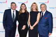 Co-Chair, CCO of Netflix Ted Sarandos, Sarah Sarandos, Tony Bennett and Susan Benedetto attend the 11th Annual Exploring The Arts Gala 2018 at The Ziegfeld Ballroom on January 30, 2018 in New York City.