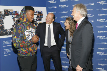 Tony Blair Howard Lutnick Annual Charity Day Hosted By Cantor Fitzgerald, BGC and GFI - Cantor Fitzgerald Office - Arrivals