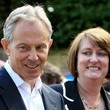 Jacqui Smith Tony Blair Joins Jacqui Smith On The Campaign Trail