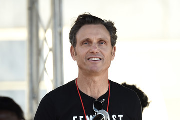 Tony Goldwyn 2018 Women's March Los Angeles