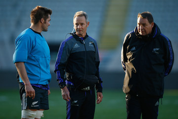 Tony Page New Zealand All Blacks Training Session