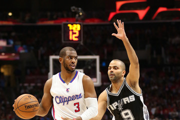 Tony Parker San Antonio Spurs v Los Angeles Clippers - Game Five