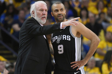 Tony Parker San Antonio Spurs vs. Golden State Warriors - Game One