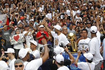 Tony Parker San Antonio Spurs Victory Parade and Rally