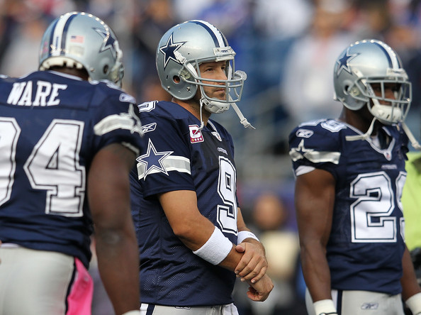 Tony Romo Dallas Cowboys New Uniforms