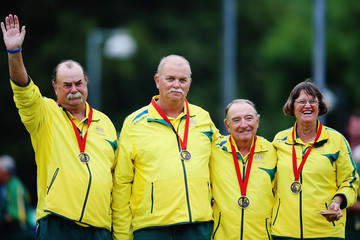 Tony Scott 20th Commonwealth Games - Day 3: Lawn Bowls