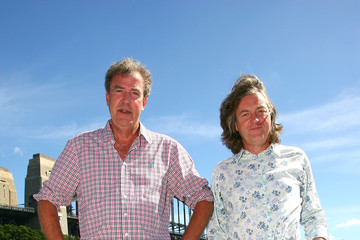 Jeremy Clarkson James May Top Gear Live - Sydney Photo Call