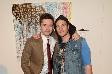 Topher Grace Gregory Siff The Art Of Elysium's 6th Annual Pieces Of Heaven Powered By Ciroc Ultra Premium Vodka