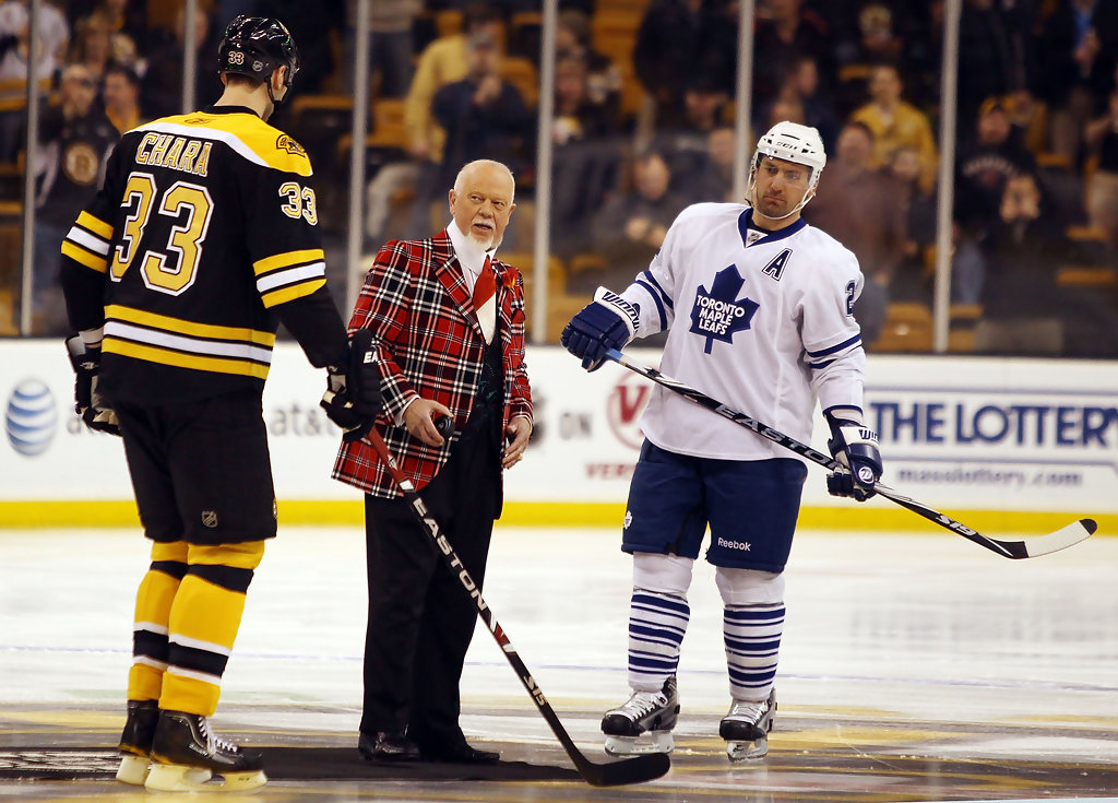 How Tall Is Chara Boston Bruins On Skates