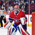 Carey Price Photos - Carey Price #31 of the Montreal Canadiens protects his net against the Toronto Maple Leafs during the NHL game at the Bell Centre on October 14, 2017 in Montreal, Quebec, Canada.  The Toronto Maple Leafs defeated the Montreal Canadiens 4-3 in overtime. - Toronto Maple Leafs v Montreal Canadiens