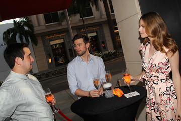 Torrance Coombs Natalie Zfat's Los Angeles Summer Dinner Party