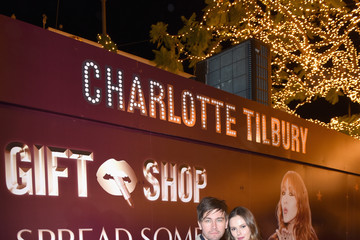 Torrance Coombs Charlotte Tilbury Holiday Pop-Up At The Grove