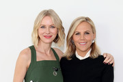 Naomi Watts (L) and Tory Burch attend the Tory Burch Fall Winter 2019 Fashion Show at Pier 17 on February 10, 2019 in New York City.