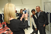 """Linda Wells, Joe Zee and June Ambrose  attend the launch for""""That's What Fashion Is"""" by Joe Zee hostd by Tory Burch and Joe Zee at Tory Sport on October 13, 2015 in New York City."""