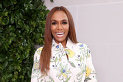 Janet Mock attends Tory Burch NYFW SS20 at the Brooklyn Museum on September 08, 2019 in Brooklyn City.