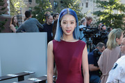 Model Irene Kim attends the Tory Burch Spring Summer 2018 Fashion Show at Cooper Hewitt, Smithsonian Design Museum on September 8, 2017 in New York City.